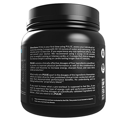 Legion Athletics Pulse Pre-Workout Supplement - Smooth -3979