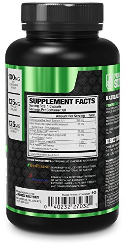 PRIMASURGE Natural Testosterone Booster for Men - Boost Lean Muscle Growth,  Strength, Libido, Energy, & Fat Loss – Premium Cutting-Edge Ingredients